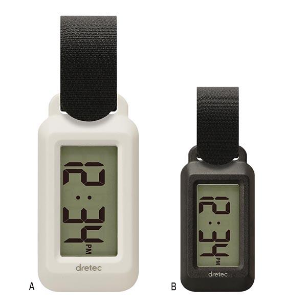 ドリテック ポータブル温湿度計 ブライン [B/ブラック]
