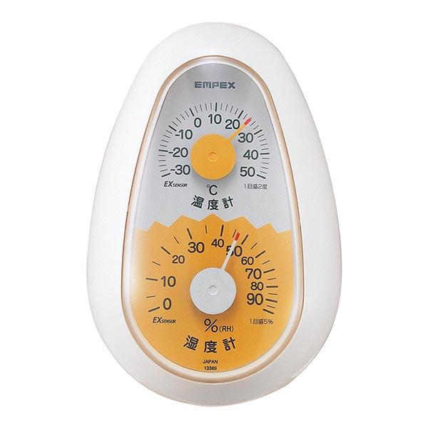 起き上がりこぼし温度・湿度計