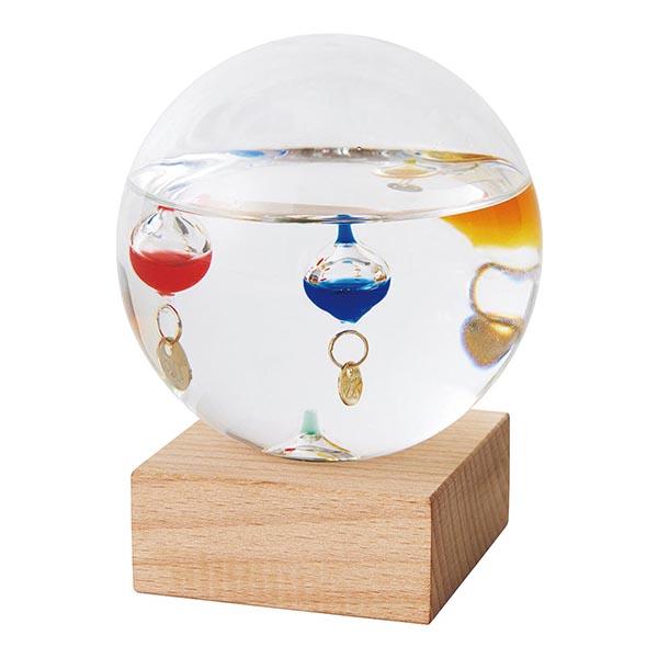 ガラスフロート温度計 ドーム