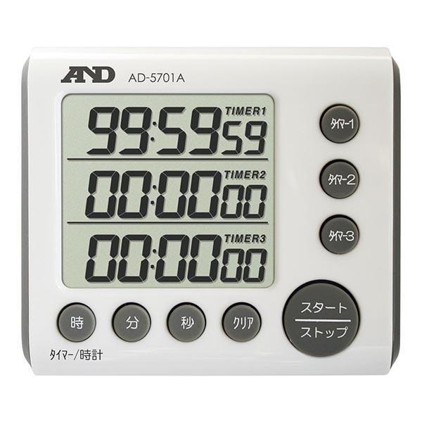 A&D 3チャンネル 100時間形タイマー