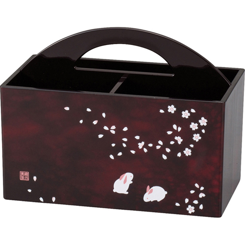 池坊美佳 桜うさぎ リモコンBOX