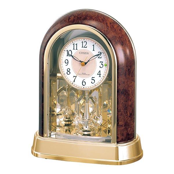 シチズン 回転飾り付電波置時計