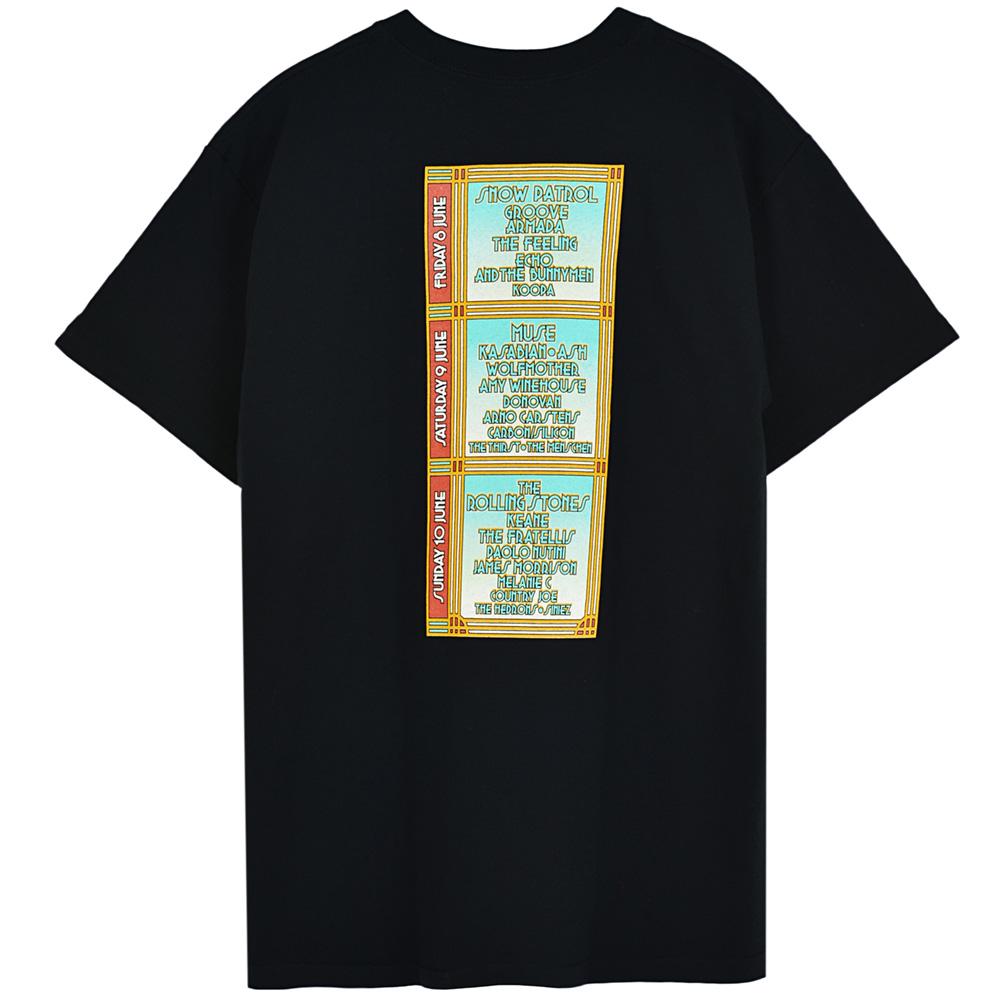 ROLLING STONES - (映画『GIMME SHELTER』公開50周年 ) - ワイト島フェスティバル 2007会場限定T(デッドストック) / バックプリントあり / Tシャツ / メンズ