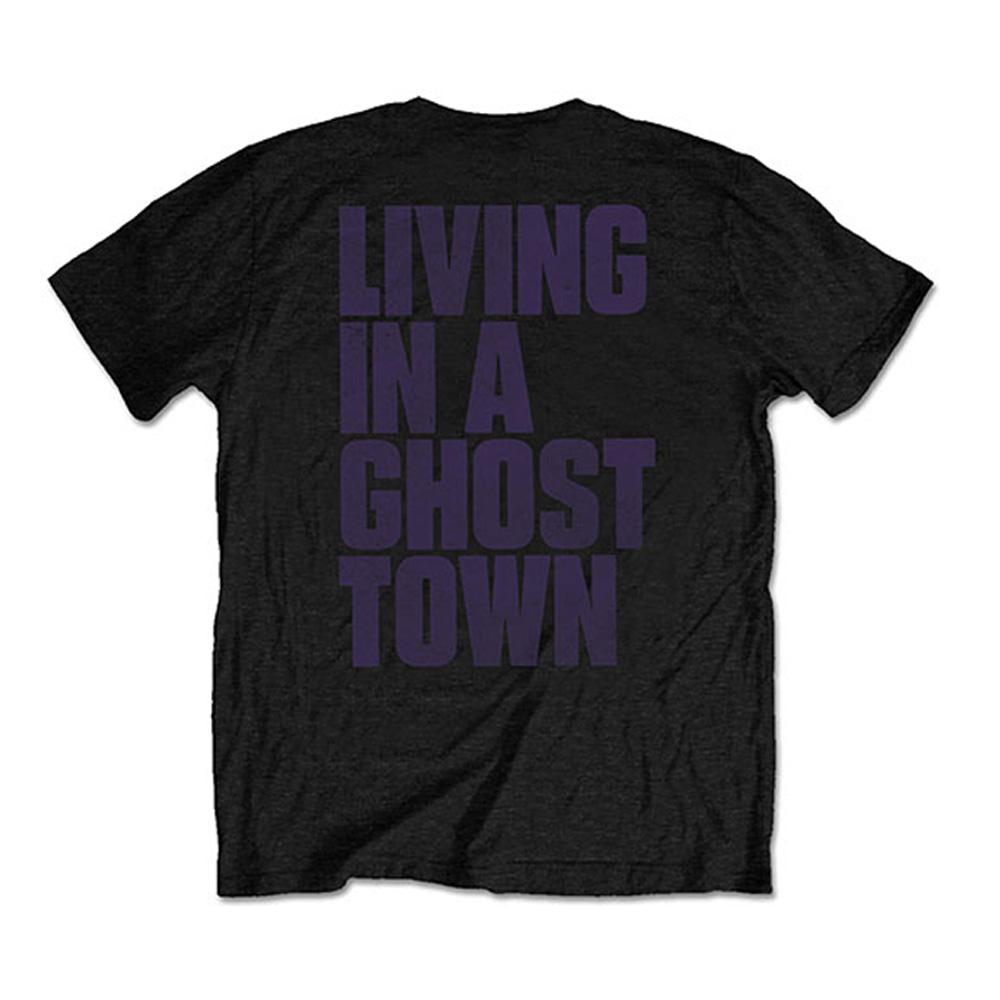 【予約商品】 ROLLING STONES - (来日30周年記念 ) - Ghost Town Distressed / バックプリントあり / Tシャツ / メンズ
