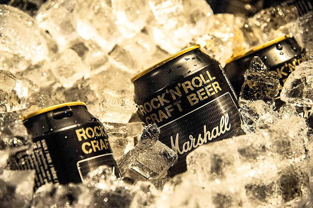 MARSHALL(ブランド) - ロックンロールクラフトビール / 8本入りBOX(アンプヘッド) / ビール