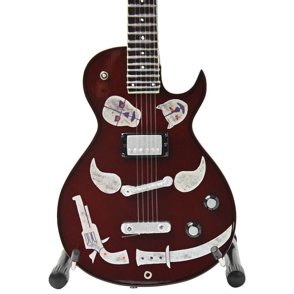 KEITH RICHARDS - 1981 Zemaitis Macabre ミニチュア / ミニチュア楽器