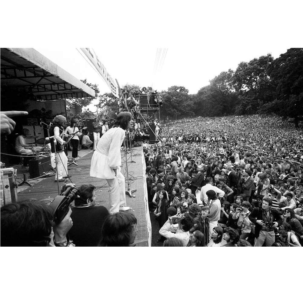 ROLLING STONES - (映画『GIMME SHELTER』公開50周年 ) - The Stones in the Park / 写真集
