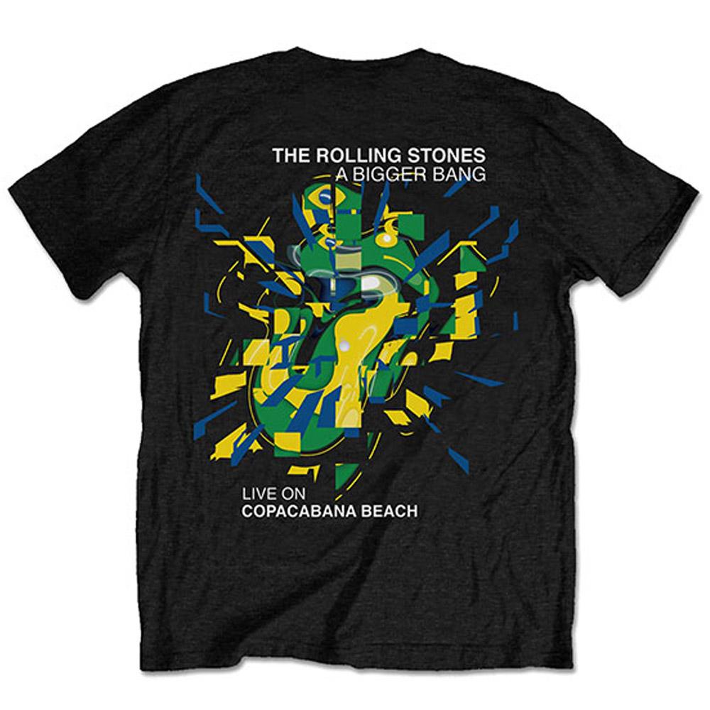 ROLLING STONES - (映画『GIMME SHELTER』公開50周年 ) - Brazil '80 / バックプリントあり / Tシャツ / メンズ