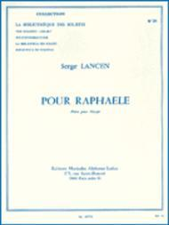 For Raphaele, For Harp