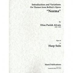 """ベリーニのオペラ""""ノルマ""""のテーマによる主題と変奏"""