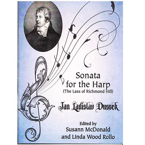 ハープのためのソナタ/J.L.デュセック