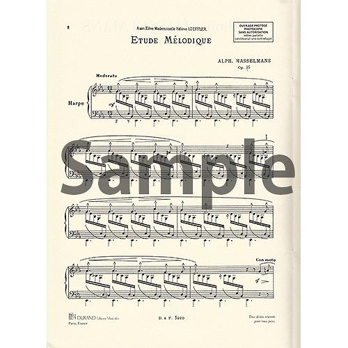 旋律的練習曲 op.35 / A.アッセルマン