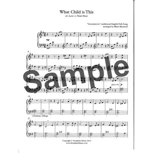 What Child is This(グリーンスリーブス)/イングランド民謡