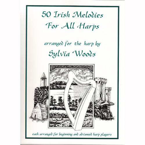 ハープのための50のアイリッシュメロディ