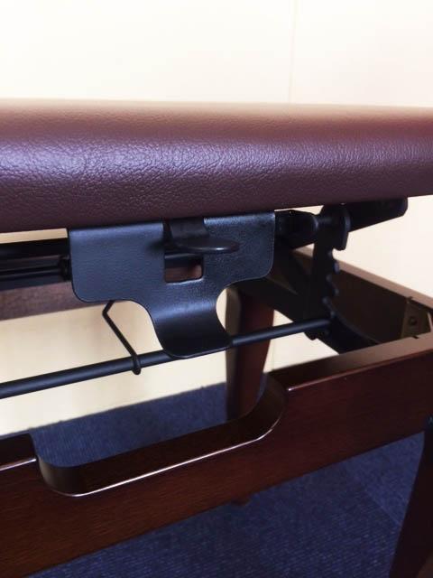 【高さ調整簡単!】銀座十字屋オリジナル ラック式ハープ椅子