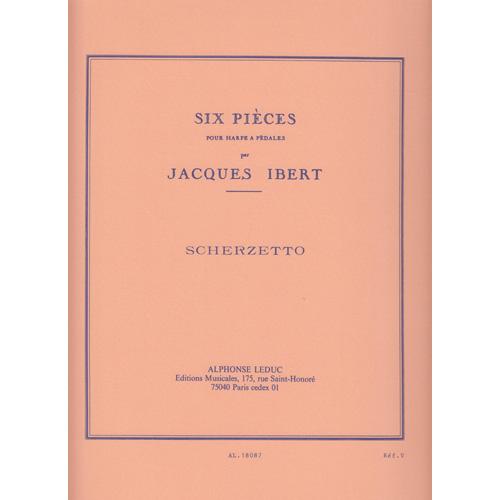スケルツェット ハープのための六つの小品より / J.イベール