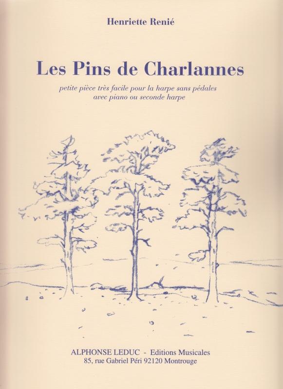 シャルランヌの松 / H.ルニエ(2台ハープ)