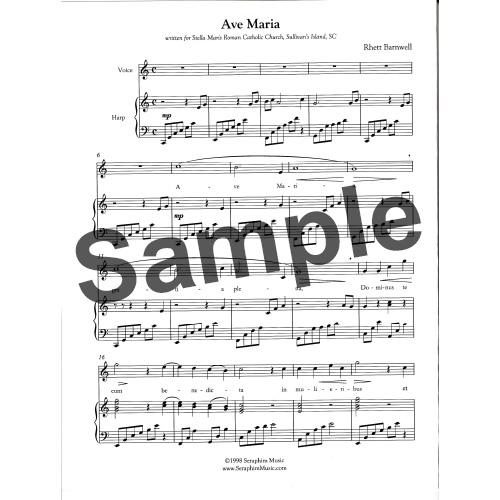 【半期決算10倍P】Ave Maria/Rhett Barnwell※下記より試聴可
