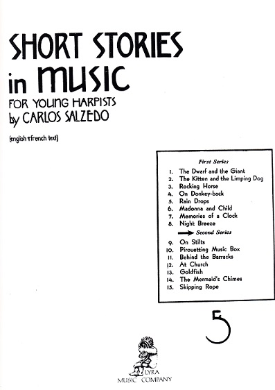 Short Stories in Music  for Young Happists Vol.2 /C.Salzedo