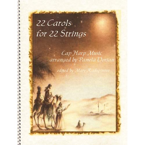 22弦ハープのための 22のクリスマスキャロル
