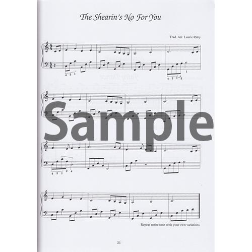 フォークハープのためのケルト音楽