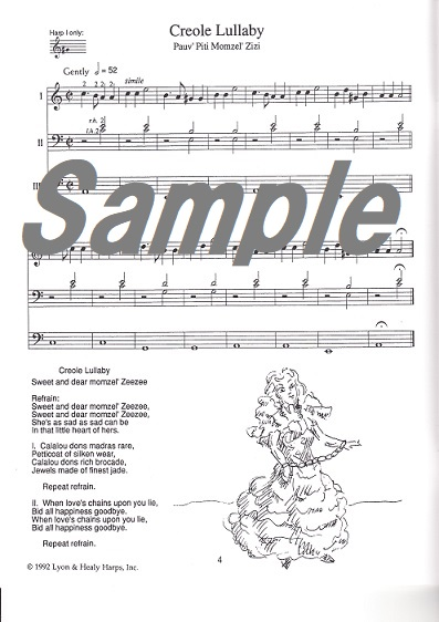 【期間限定10倍P】For Little Troubadours(2から4台ハープアンサンブル集) /Owens