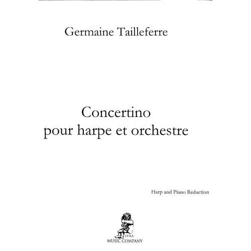 ハープとピアノのためのコンチェルティーノ / タイユフェール