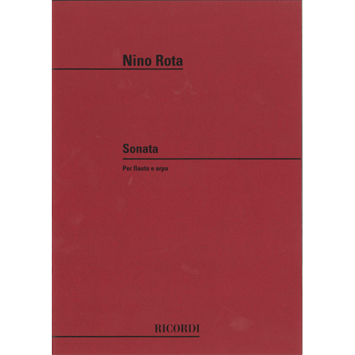 フルートとハープのためのソナタ / ニーノ・ロータ