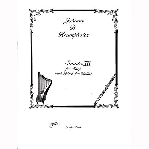 クロムフォルツ フルートとハープのためのソナタ第3番