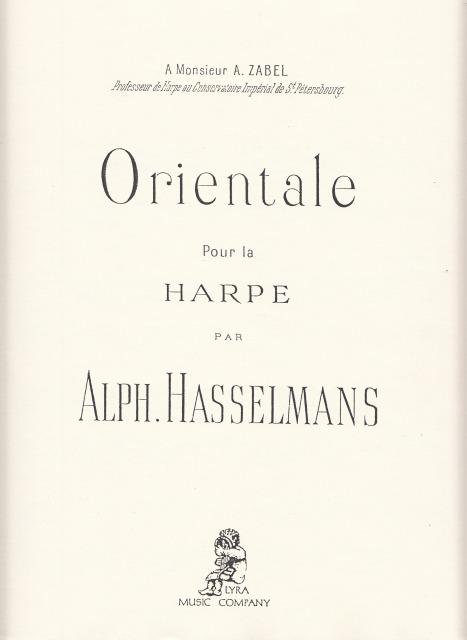 オリエンタル Op.38 / A.アッセルマン