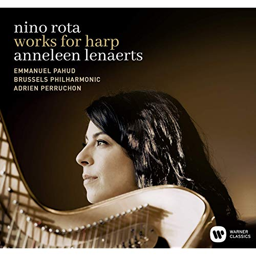 nino rota works for harp ニノ・ロータ ハープのための作品集/Anneleen Lenaertsアンネレーン・レナエルツ