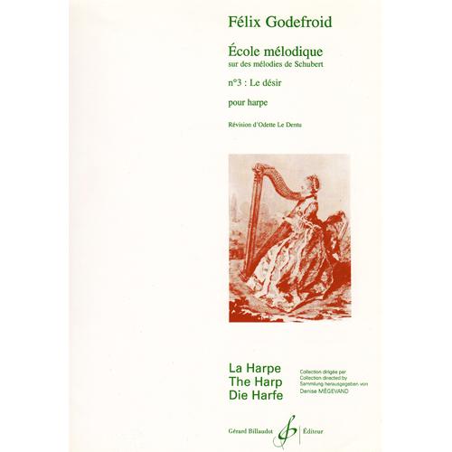 Ecole melodique No.3 Le desir / F.ゴドフロア