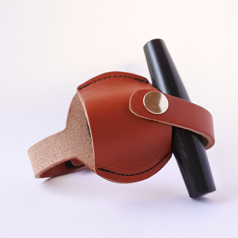 牛革チューニングキー用ホルダー Walnut