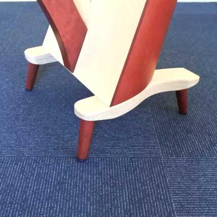 レバーハープ用短脚