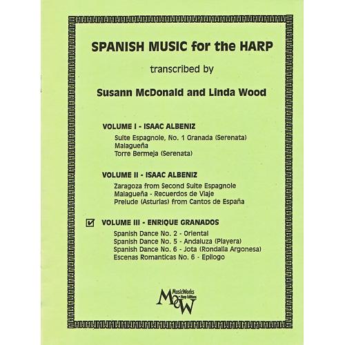 ハープのためのスペイン音楽 Vol.3 E.グラナドス
