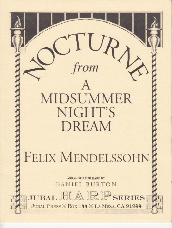 ノクターン 「夏の夜の夢」より / F.メンデルスゾーン