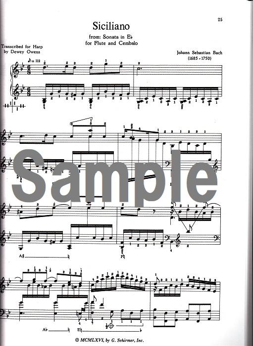 ハーププレイヤーのためのハープソロ集
