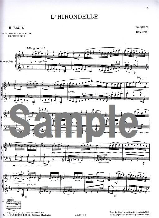 ハープのためのクラシック集 2 / H.ルニエ