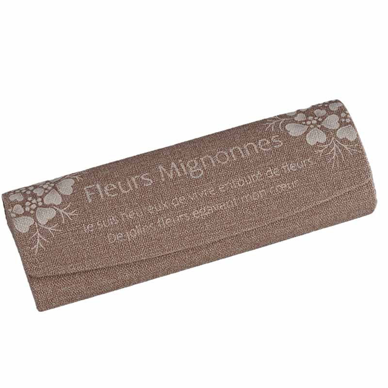 417-2397 白井里美シルクスクリーン付きパターンパケット「Fleurs Mignonnes」(フルール ミニョンヌ)【特】