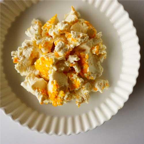 季節の小さなチーズ3種 (味噌・酒粕・オレンジ)