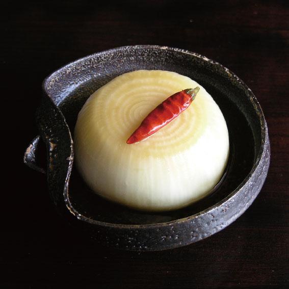 淡路産の玉ねぎ醤油漬