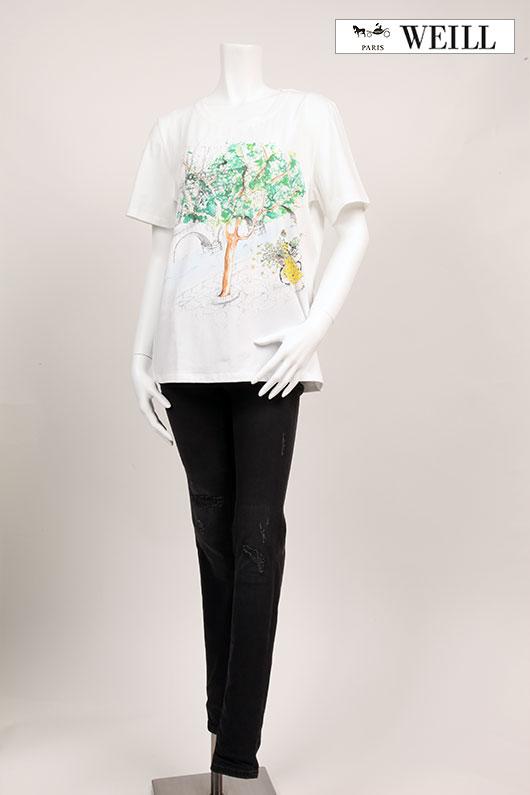 【送料無料】 WEILL ヴェイユ Tシャツ 【2021年春夏新作】