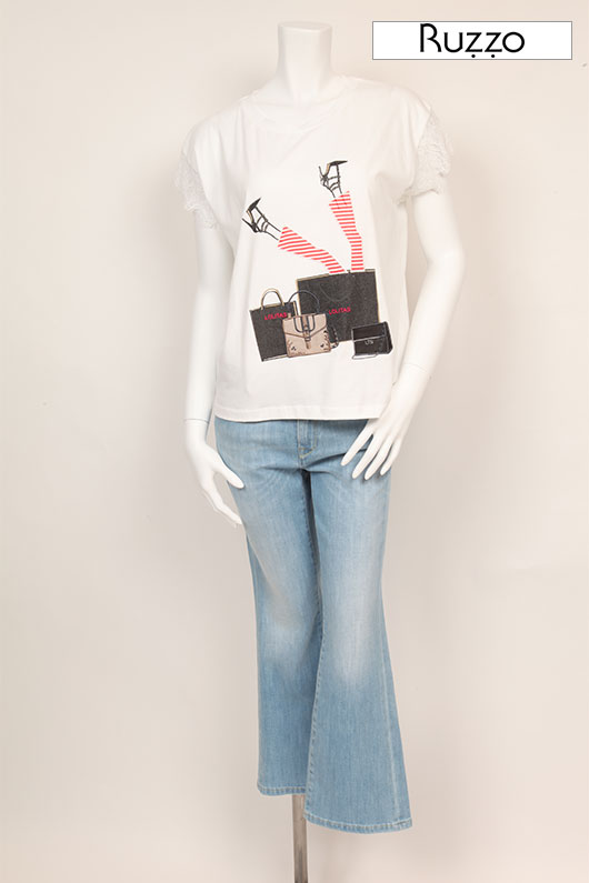 【送料無料】 RUZZO ルッツォ Tシャツ【2021年春夏新作】