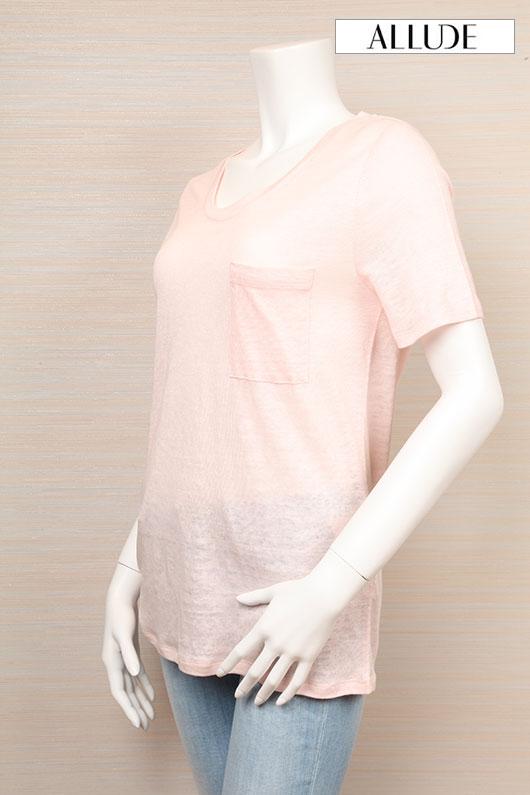 【送料無料】ALLUDE アリュード Tシャツ 【2021年春夏新作】