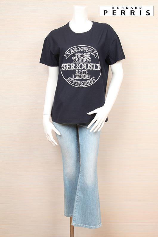 【送料無料】BERNARD PERRIS ベルナール ペリス Tシャツ【2021年春夏新作】