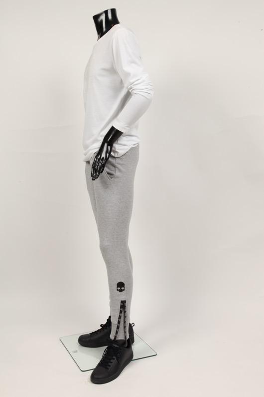 【送料無料】 ハイドロゲン HYDROGEN メンズ SHARK シャーク トレーナーパンツ グレー スカル【国内正規品】【秋冬コーデ】