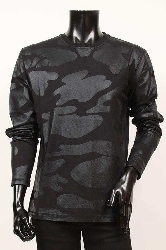 【送料無料】HYDROGEN ハイドロゲン メンズ 長袖Tシャツ【国内正規品】