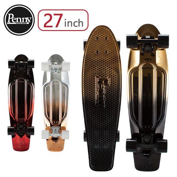 ペニー スケートボード Penny Skateboards スケボー 27インチ ニューメタリックフェード PNYCOMP NewMetallicFades アウトドア ストリート コンプリート ★