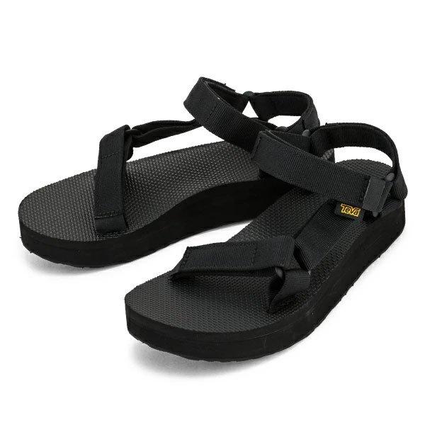 テバ TEVA サンダル レディース ミッドフォーム ユニバーサル Midform Universal ブラック BLACK 1090969 スポーツサンダル 靴 アウトドア ★