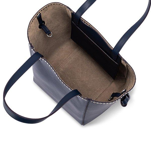【全品5%OFFクーポン コードglv】ジェイ&エムデヴィッドソン J&M Davidson トートバッグ ベル M 1866N/7314 Bags MEDIUM BELLE W STUDS バッグ カバン レザー レディース ★